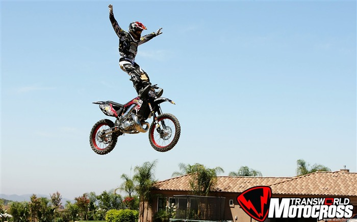 FMX motocross stunt fancy wallpaper Views:37213