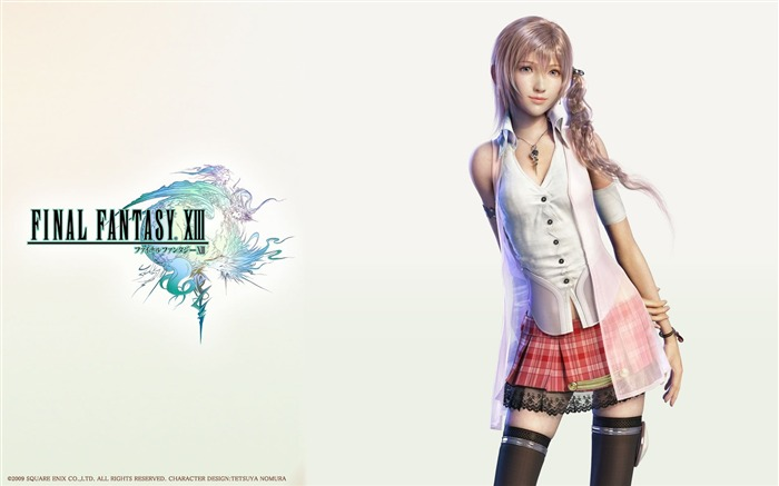 Final Fantasy 13 HD Games Wallpapers Views:19886