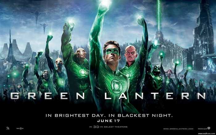 Green Lantern movie poster wallpaper Views:14760
