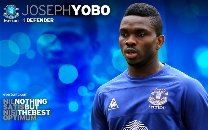 Joseph Yobo-new look 2010-11 version wallpaper Views:4032