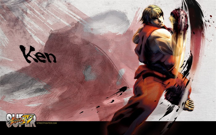 Super Street Fighter 4 original painting HD wallpaper Views:41275
