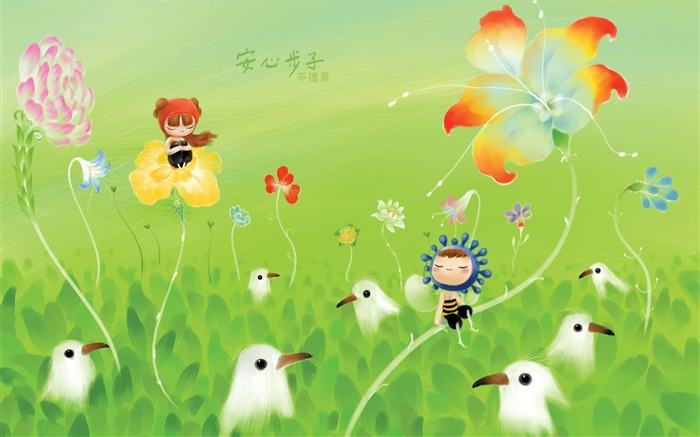 King of Taiwan is not beautiful illustrator illustrator wallpaper - ease the pace Views:9276
