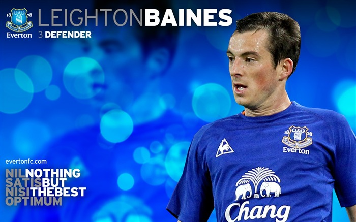 Leighton Baines-new look 2010-11 version wallpaper Views:5853