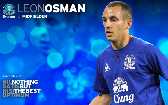 Leon Osman-new look 2010-11 version wallpaper Views:5402