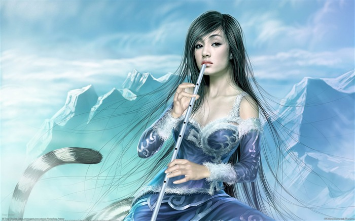 Master Tang Yuehui CG illustration style paintings myth Views:11832