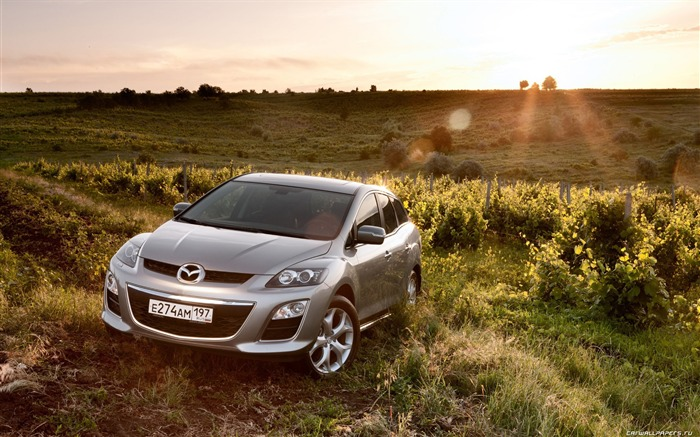 Mazda CX-7 - 2010 models SUV Wallpaper first series Views:7921