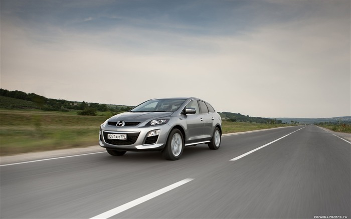 Mazda CX-7 - 2010 models SUV Wallpaper second series 04 Views:5826