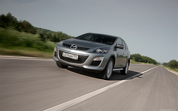 Mazda CX-7 - 2010 models SUV Wallpaper second series 05 Views:5469