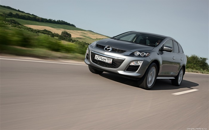 Mazda CX-7 - 2010 models SUV Wallpaper second series 06 Views:5754