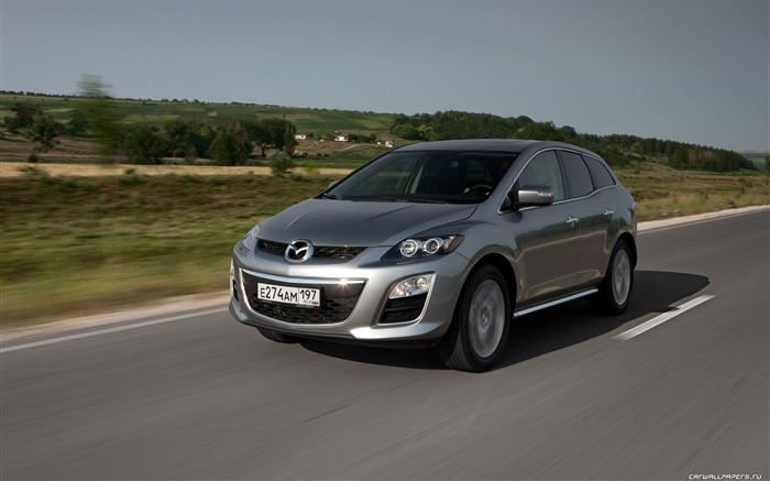 Mazda CX-7 - 2010 models SUV Wallpaper second series 07 Views:6021