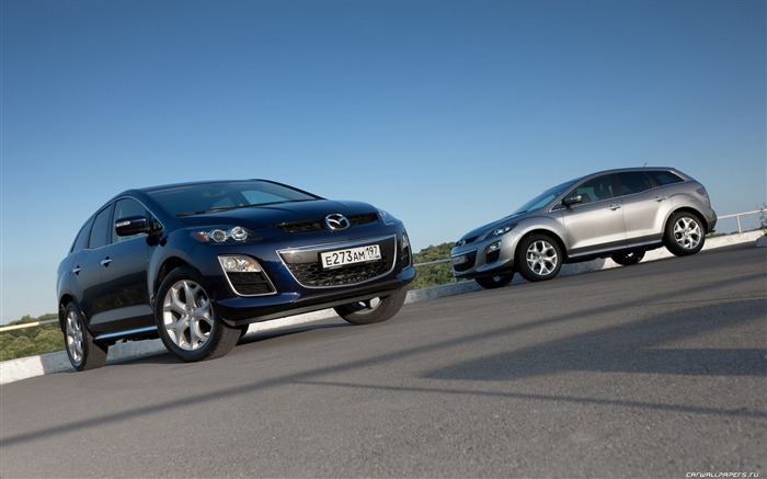 Mazda CX-7 - 2010 models SUV Wallpaper second series 08 Views:5900