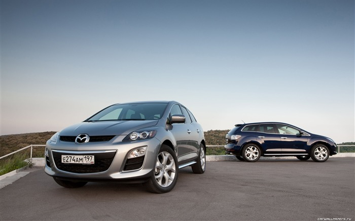 Mazda CX-7 - 2010 models SUV Wallpaper second series 09 Views:7344