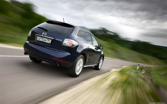 Mazda CX-7 - 2010 models SUV Wallpaper second series 16 Views:5467