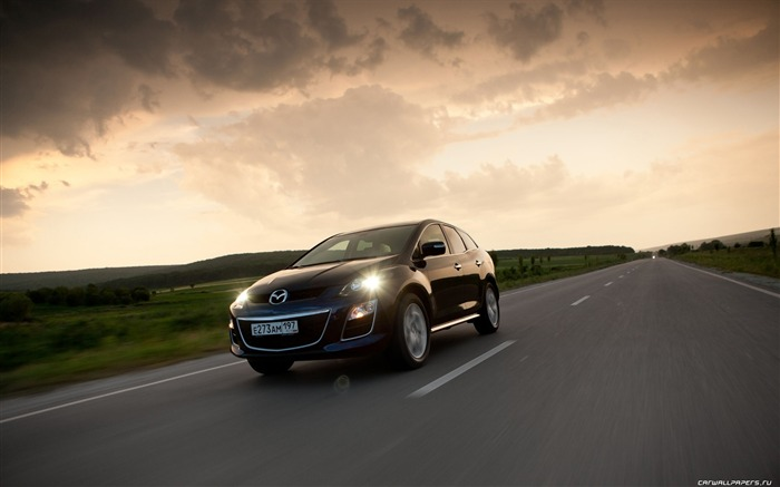 Mazda CX-7 - 2010 models SUV Wallpaper second series 17 Views:4756
