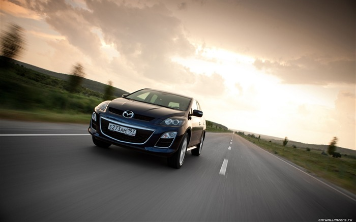 Mazda CX-7 - 2010 models SUV Wallpaper second series 18 Views:4820