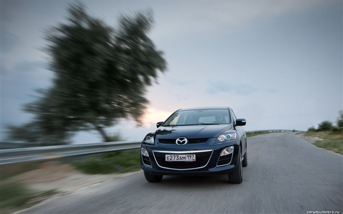 Mazda CX-7 - 2010 models SUV Wallpaper second series 22 Views:3384
