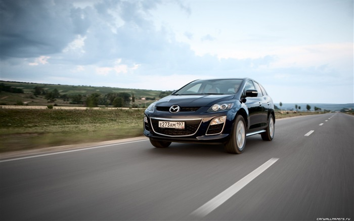 Mazda CX-7 - 2010 models SUV Wallpaper second series 24 Views:3460