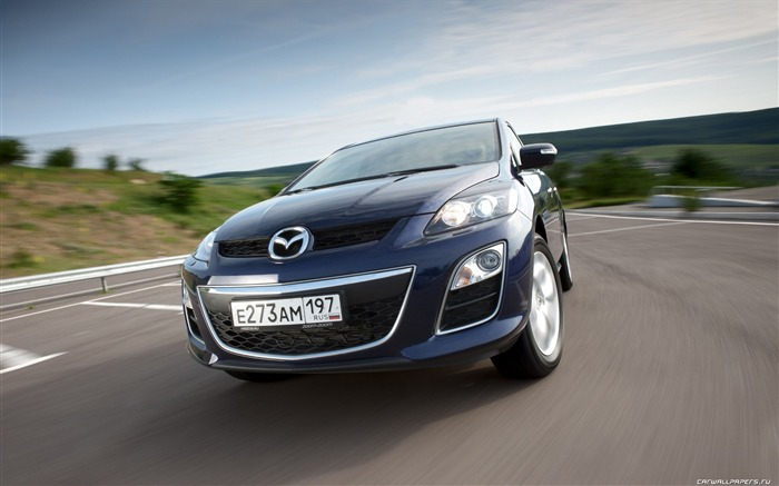 Mazda CX-7 - 2010 models SUV Wallpaper second series 26 Views:3453