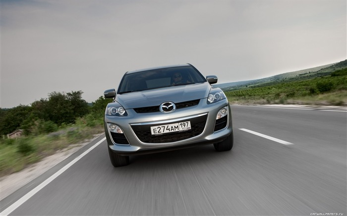 Mazda CX-7 - 2010 models SUV Wallpaper second series Views:6310