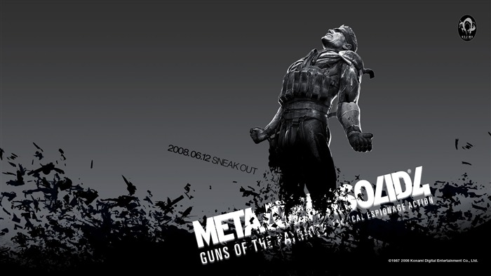 Metal Gear Solid 4-Guns of the Patriots wallpaper 03 Views:18422
