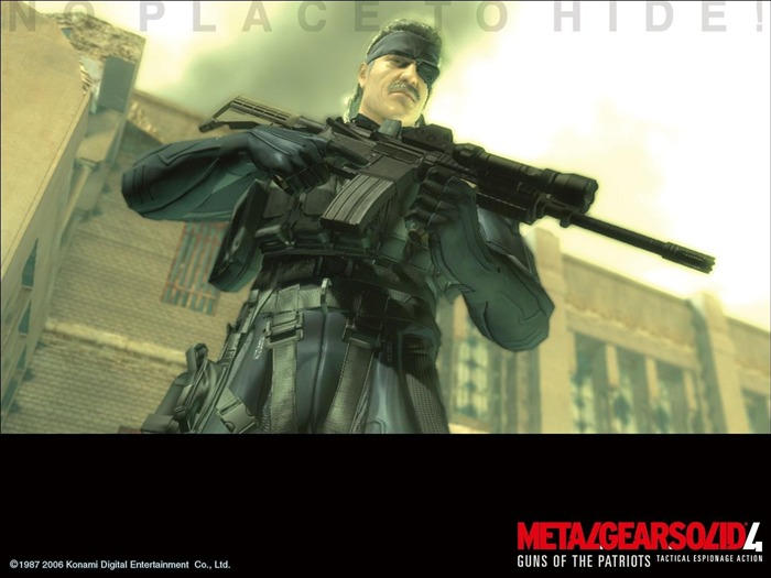 Metal Gear Solid 4-Guns of the Patriots wallpaper 05 Views:6600
