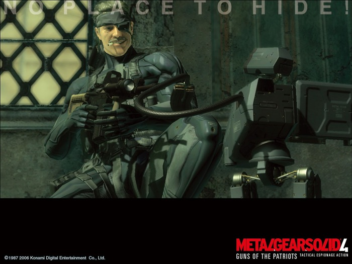 Metal Gear Solid 4-Guns of the Patriots wallpaper 06 Views:5181