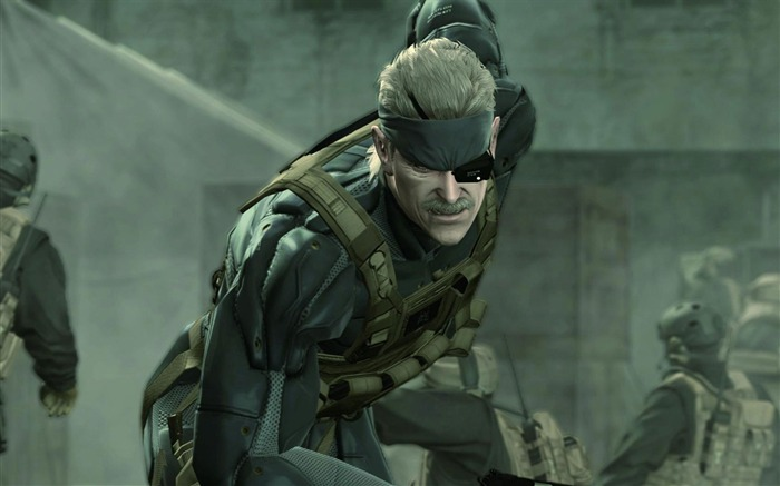 Metal Gear Solid 4-Guns of the Patriots wallpaper 08 Views:7009