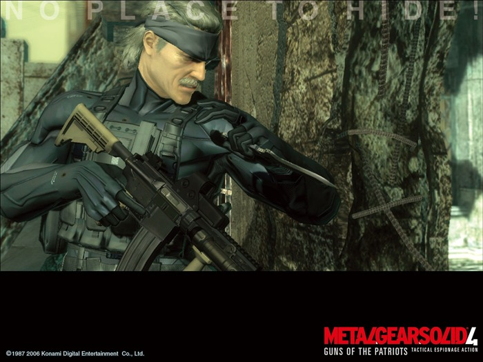 Metal Gear Solid 4-Guns of the Patriots wallpaper 13 Views:8016