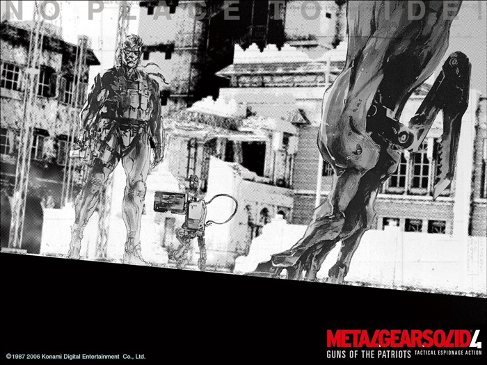 Metal Gear Solid 4-Guns of the Patriots wallpaper 14 Views:7270