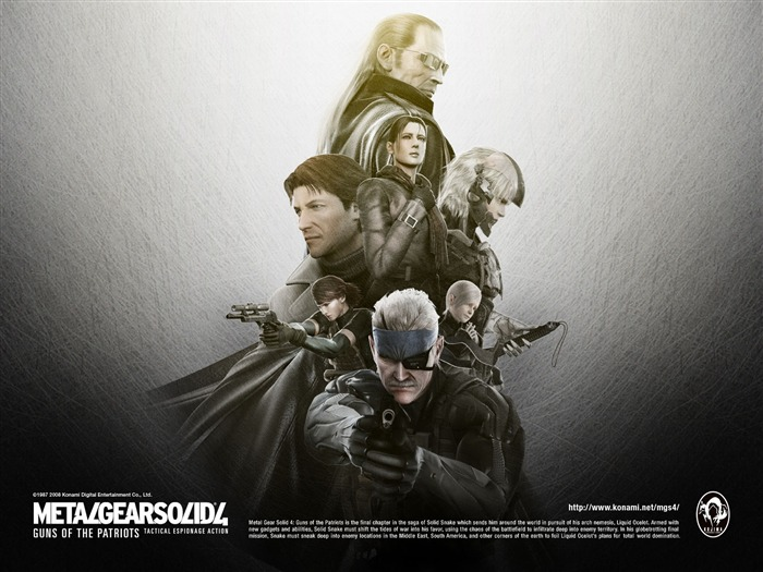 Metal Gear Solid 4-Guns of the Patriots wallpaper 16 Views:10726
