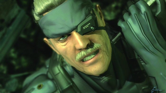 Metal Gear Solid 4-Guns of the Patriots wallpaper Views:6940