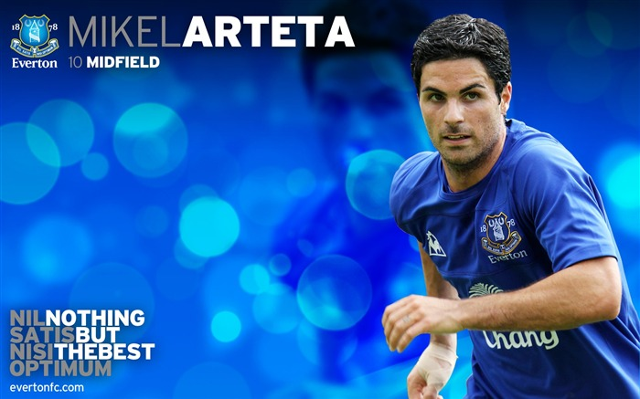 Mikel Arteta-new look 2010-11 version wallpaper Views:8578