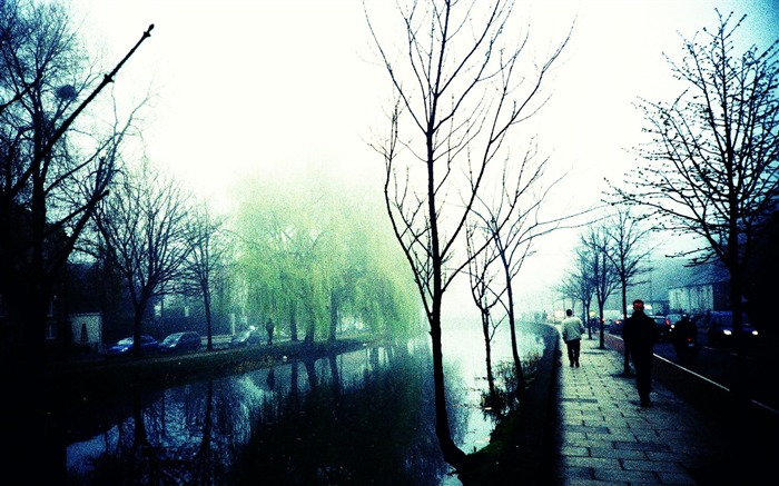 Mystery and Misty Grand Canal Beautiful Lomo Snapshots Views:4439