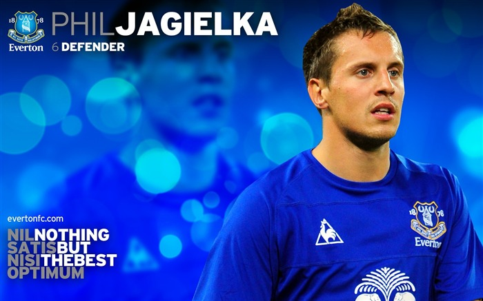 Phil Jagielka-new look 2010-11 version wallpaper Views:4443