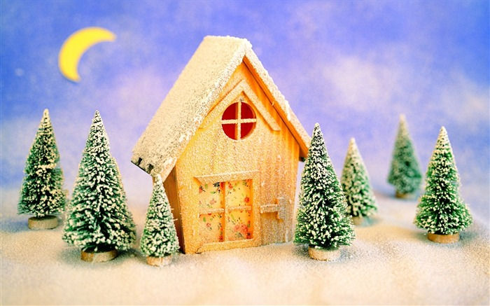 Picture- Lovely Christmas Toy House- Christmas Decorations Views:5428