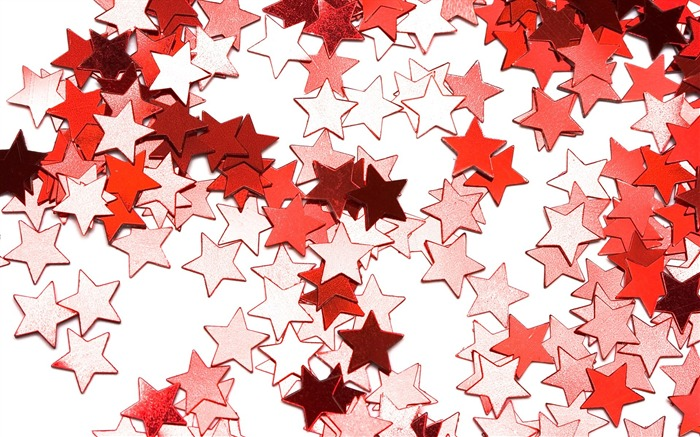 Picture- Red Christmas Star ornament- Christmas objects Views:15148