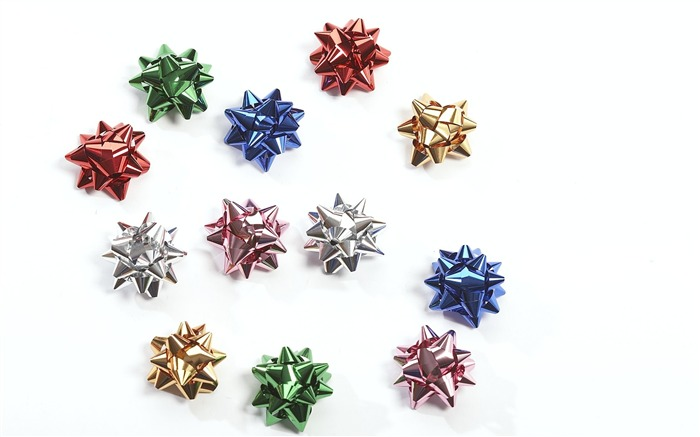 Picture- Small Christmas Bow Gift Bows- 5 Colors Views:8065