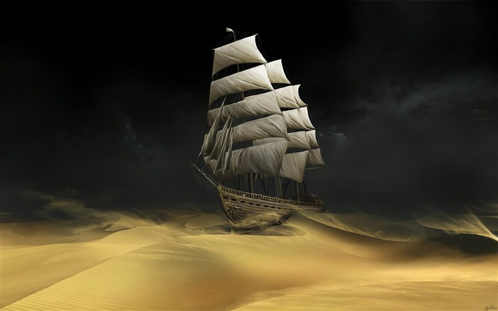 Sailing The Desert Wallpaper Views:41818 Date:7/8/2011 1:35:32 PM