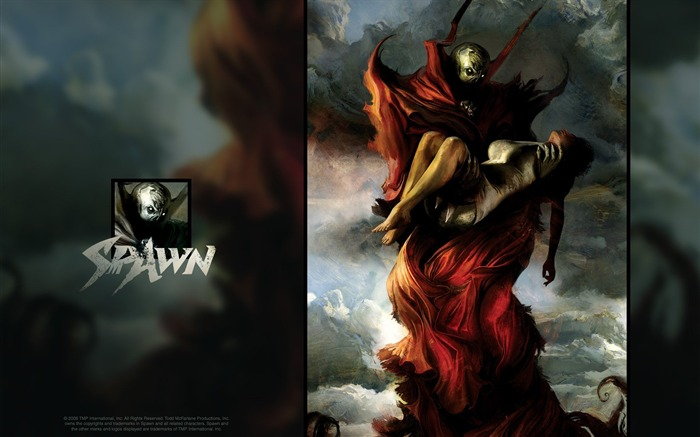 Spawn 181 Cover Art Wallpaper Views:5176