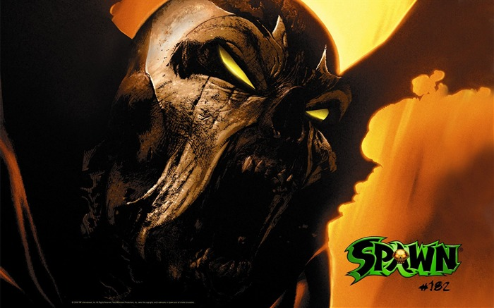 Spawn 182 Cover Art Wallpaper Views:9278