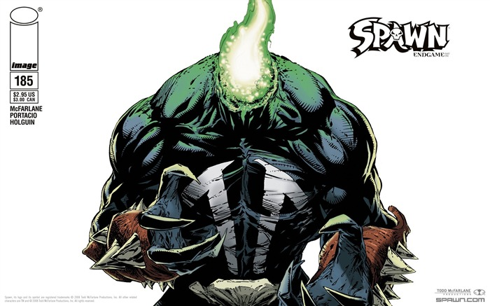 Spawn 185 Capullo Cover Wallpaper Views:5203