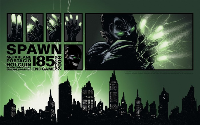 Spawn 185 Interior Art Wallpaper Views:5049