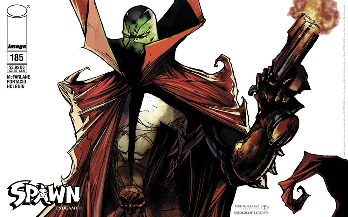 Spawn 185 McFarlane Cover Wallpaper Views:5255