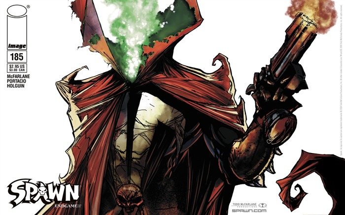 Spawn 185 McFarlane Variant Cover Wallpaper Views:5740