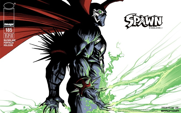 Spawn 185 Portacio Cover Wallpaper Views:12292