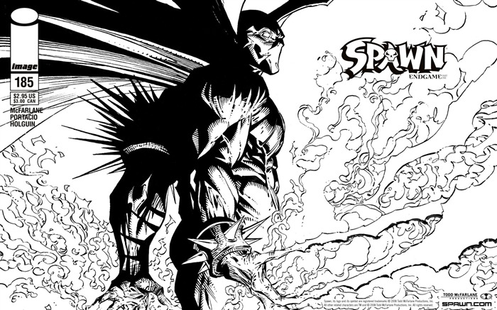 Spawn 185 Portacio Variant Cover Wallpaper Views:4617
