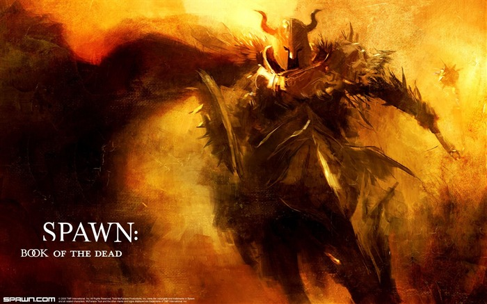 Spawn Book Of The Dead Black Knight Wallpaper Views:10773