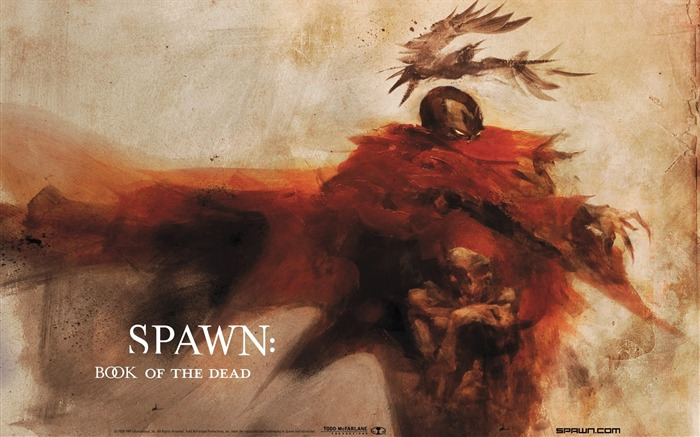 Spawn Book of the Dead Desktop Wallpaper Views:6063