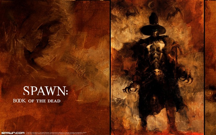 Spawn Book of the Dead Gunslinger Full Wallpaper Views:12492