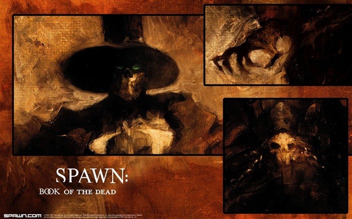 Spawn Book of the Dead Gunslinger Wallpaper Views:7392